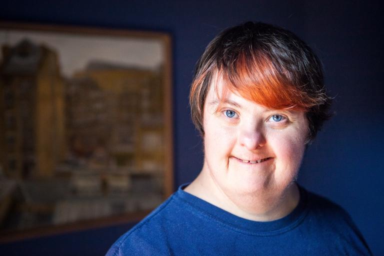 Rachel Heller indoors, smiling