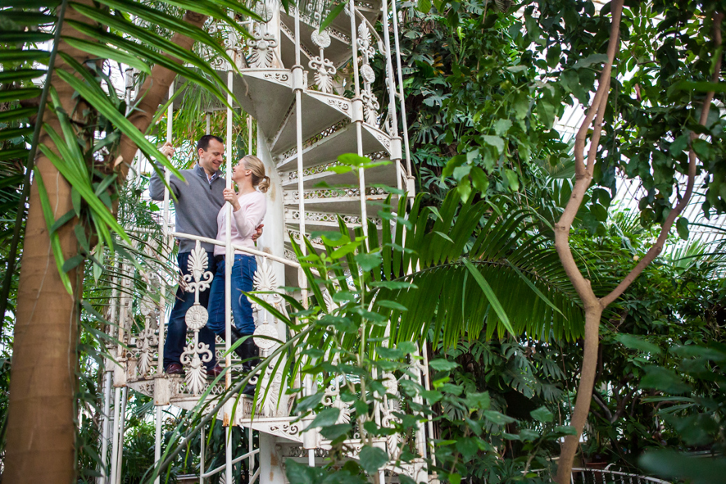 Kew Gardens Engagement Photography: Karen + Jim » Hampshire Wedding  Photographer