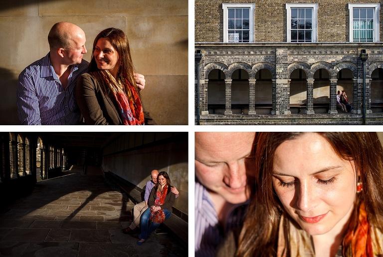 Engagement photos at Haileybury College